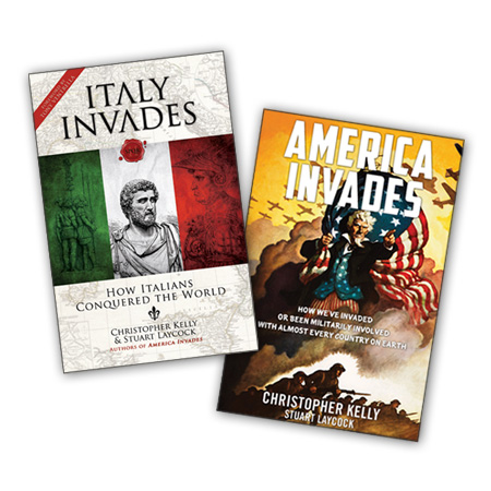 Order America Invades and Italy Invades