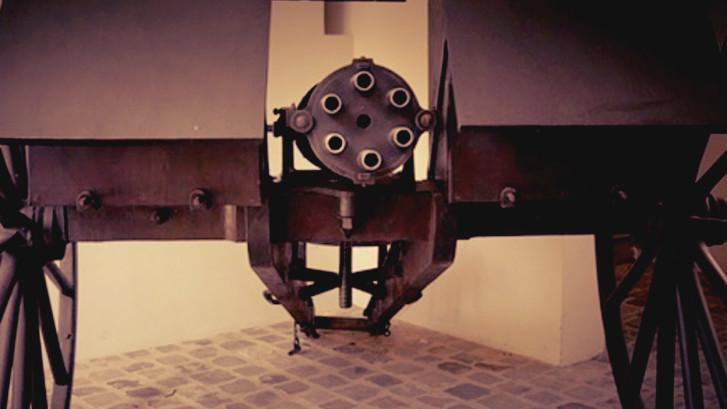 The Claxton aka The Popes Machine Gun