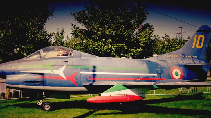 Frecce Tricolori - Italian Fiat Jet